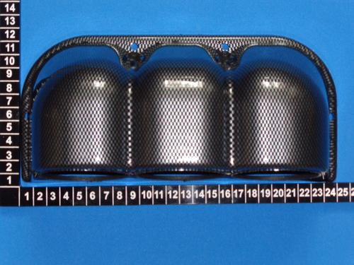 Подиум для датчиков 60 мм, тройной (фото, вид 1)