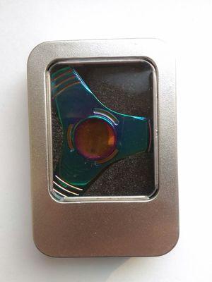спиннер-градиент трехлопастный металл (фото, вид 1)
