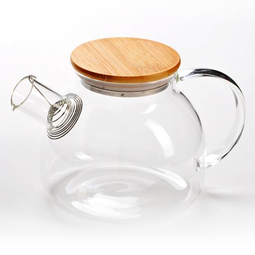 Чайник заварочный с пружинкой 1000 мл (фото, вид 1)
