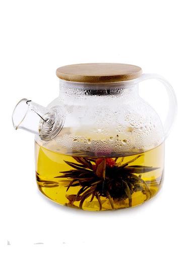 Чайник заварочный с пружинкой 1000 мл (фото, вид 2)