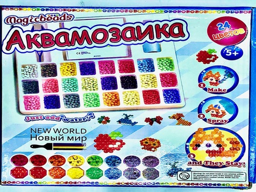 Аквамозаика, 24 цвета. (фото)