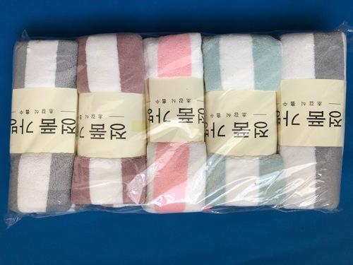 Набор полотенец для рук из микрофибры, 35х75 см, 5 штук (фото)