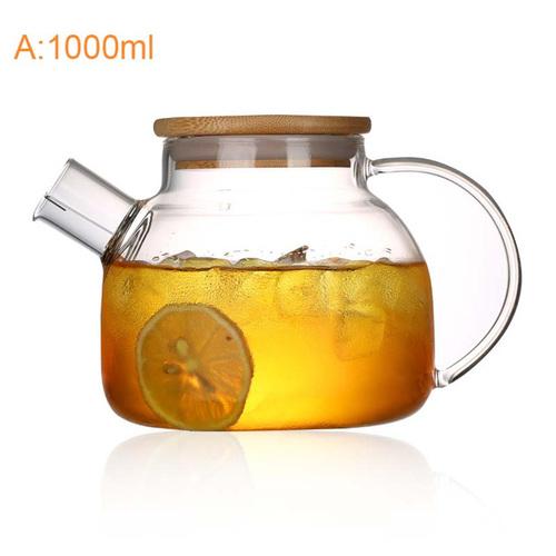 Чайник заварочный с пружинкой 1000 мл (фото)