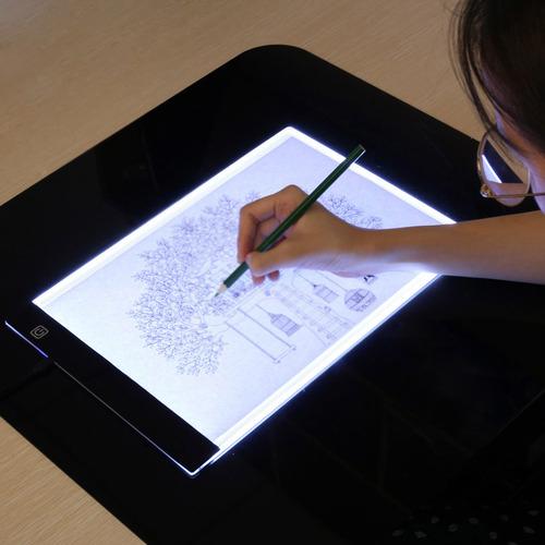 Световой планшет А4 для копирования