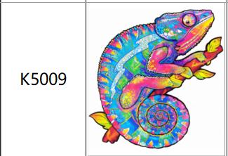 Пазлы К5009, А4