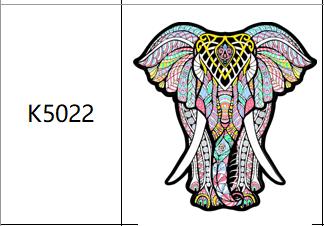 Пазлы К5022, А4