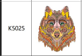 Пазлы К5025, А4