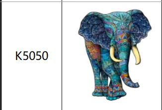 Пазлы К5050, А4