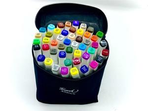 Маркеры TOUCH, 48 цветов (двухсторонние).