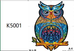 Пазлы К5001, А4