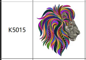 Пазлы К5015, А4