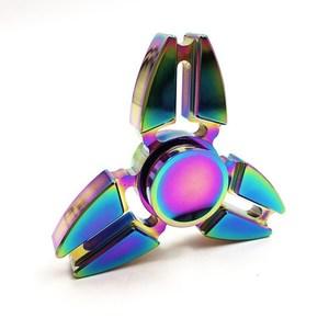 Спиннер-градиент треугольник, металл