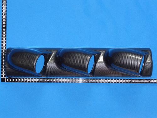 Подиум для датчиков на стойку 60 мм, тройной (фото, вид 1)