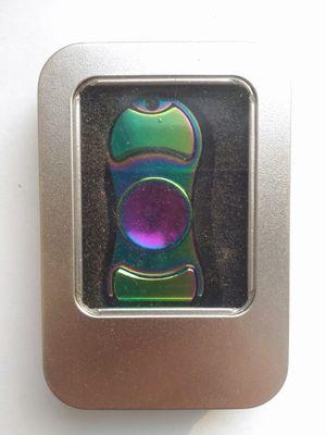 спиннер-градиент двухлопастный металл. (фото, вид 1)