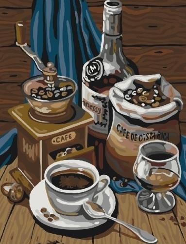 "РН GX22479 ""Кофе с коньяком"", 40х50 см"