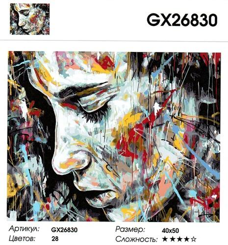 """РН GX26830 """"Лицо"""", 40х50 см"""