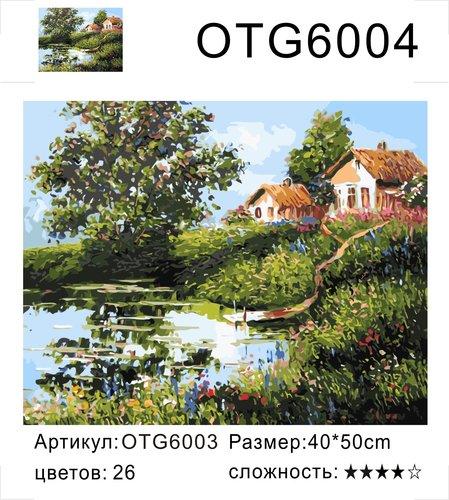 """РН OTG6004 """"Два домика у пруда"""", 40х50 см"""