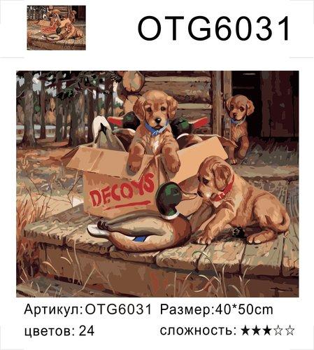 "РН OTG6031 ""Щенки и утка"", 40х50 см"