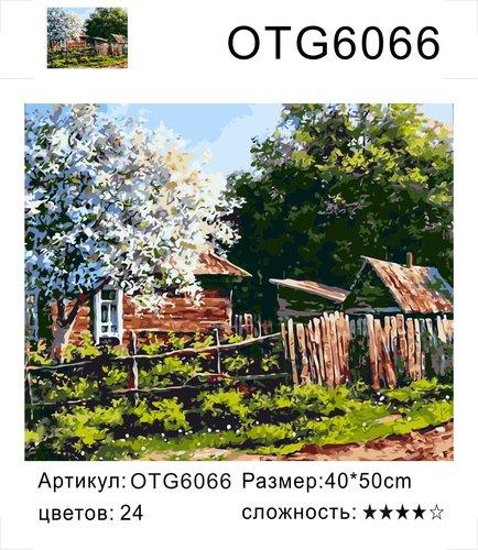 """РН OTG6066 """"Яблоня у домика"""", 40х50 см"""