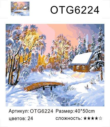 "РН OTG6224 ""Мостик к зимнему домику"", 40х50 см"