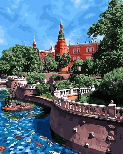 """РН GX28874 """"Вид на кремль"""", 40х50 см"""