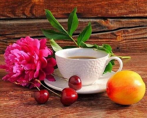 """РН GX29005 """"Пион, чай, черешня"""", 40х50 см"""