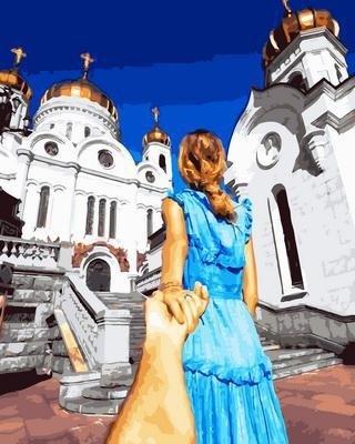 "РН GX30433 ""Пойдем к храму"", 40х50 см"