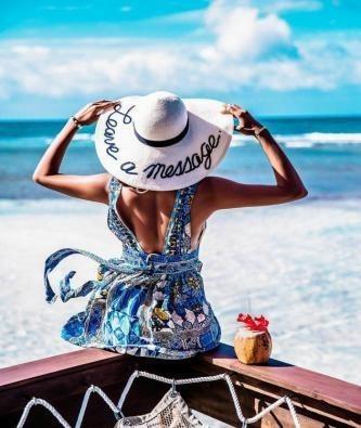 """РН GX30554 """"Девушка в шляпе смотрит на море"""", 40х50 см"""