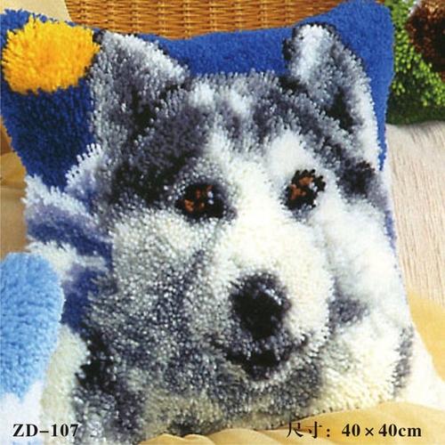 """ZD-107 """"Серая собака"""", 40х40 см"""