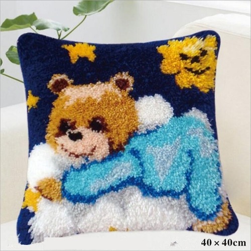 """ZD-140 """"Медвежонок в голубом"""", 40х40 см"""