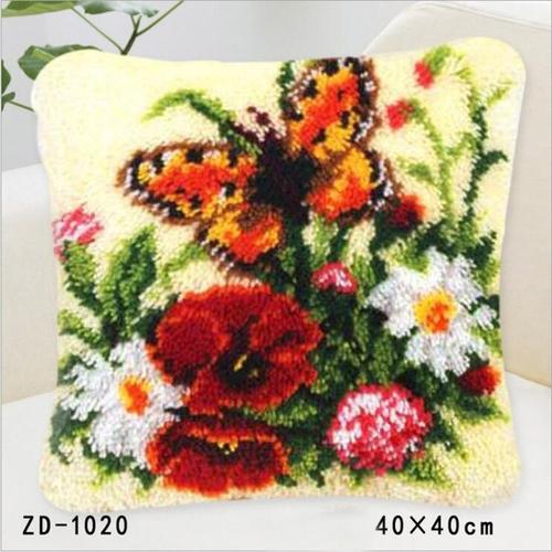 "ZD-1020 ""Бабочка и цветы"", 40х40 см"