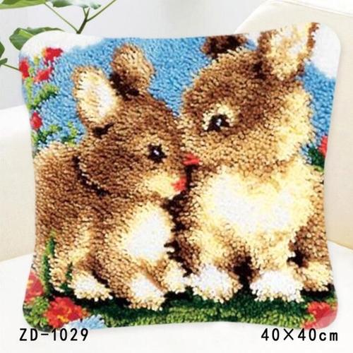 """ZD-1029 """"Два зайчонка"""", 40х40 см"""