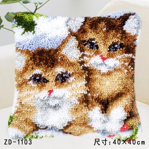 """ZD-1103 """"Два котенка"""", 40х40 см"""