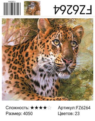 """АКВ45 FZ6264 """"Леопард"""", 40х50 см"""