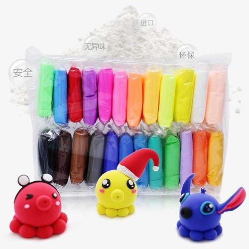 Воздушный пластилин, 24 цвета
