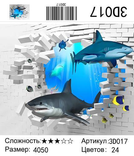 РН 3D017, 40х50 см