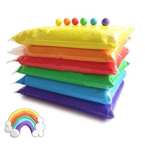 Пластилин воздушный XXL, 6 цветов х 50 гр.