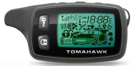 Пульт для сигнализации Tomahawk 9020/9030