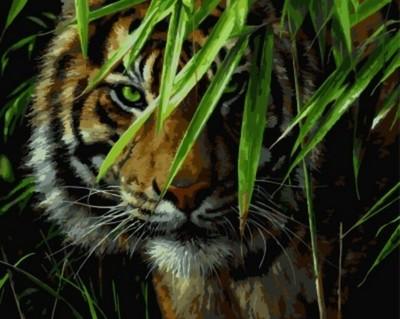 """РН GX7418 """"Тигр"""" ,40х50 см"""