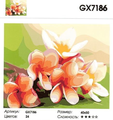 "РН GХ7186 ""Тайские цветы"", 40х50 см"