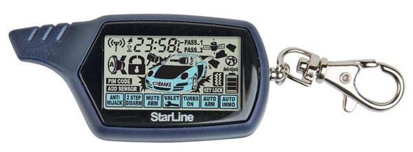 Пульт для сигнализации StarLine В6