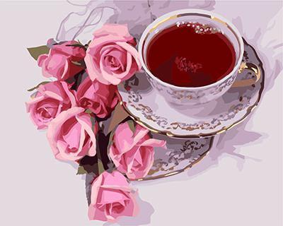 """РН GХ3641 """"Чай и розы"""", 40х50 см"""