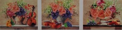 """АМТ N1005 """"Розы и скрипки"""", 40х50х3"""