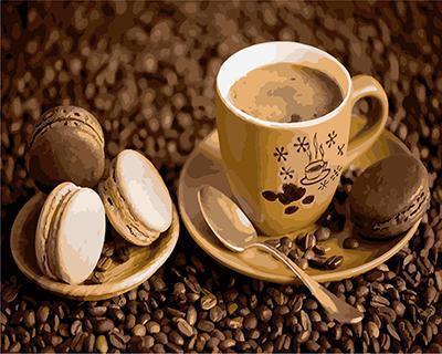 """РН GХ4463 """"Кофе с чокопаем"""" , 40х50 см"""