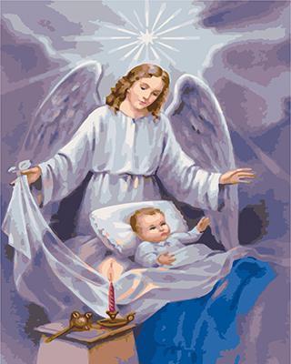 "РН GХ4861 ""Ангел-хранитель над ребенком"", 40х50 см"