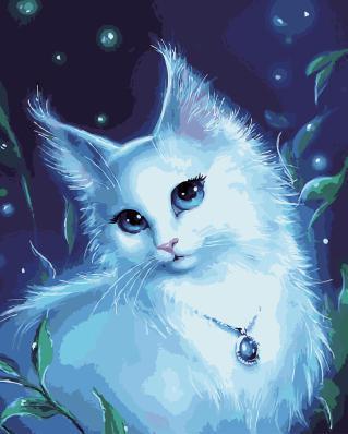 Картинки по запросу лунная кошка фото