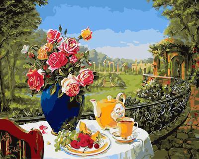 """РН GX5761 """"Цветы и завтрак """", 40х50 см"""