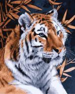 """РН GX21123 """"Тигр и бамбук"""", 40х50 см"""