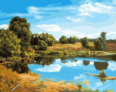 """РН GX21264 """"Озеро"""", 40х50 см"""