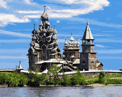 """РН GX5104 """"Петрозаводск. Кижи."""", 40х50 см"""